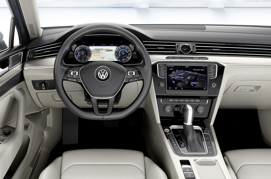 New Volkswagen Passat goes upmarket to fight BMW and Mercedes