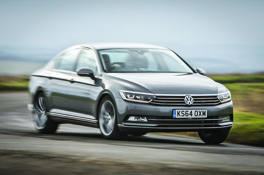 The Volkswagen Passat has good refinement and high-speed stability