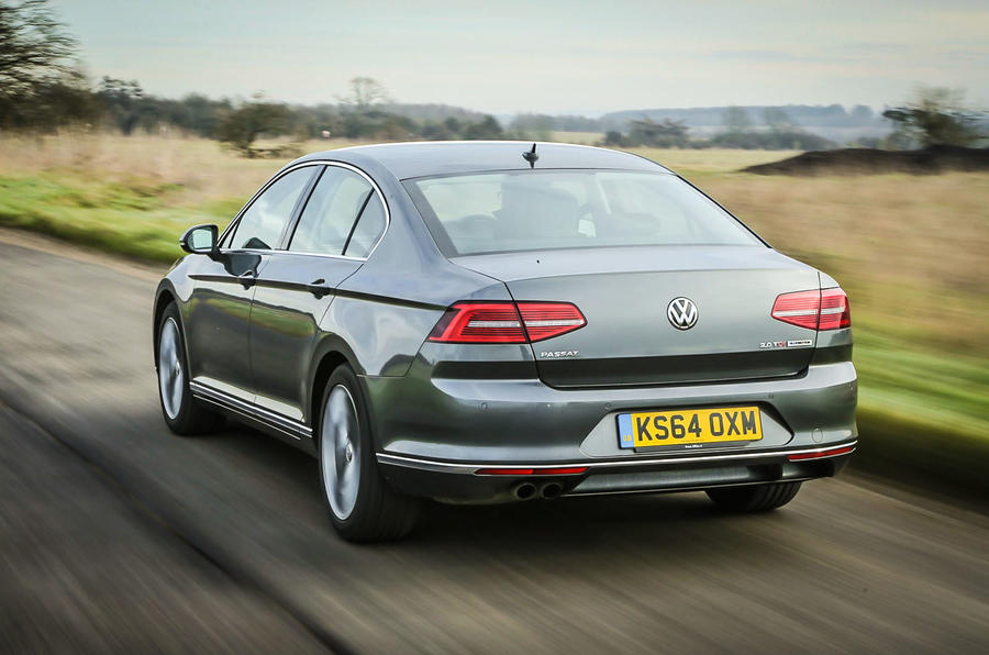 The eighth generation of the Volkswagen Passat