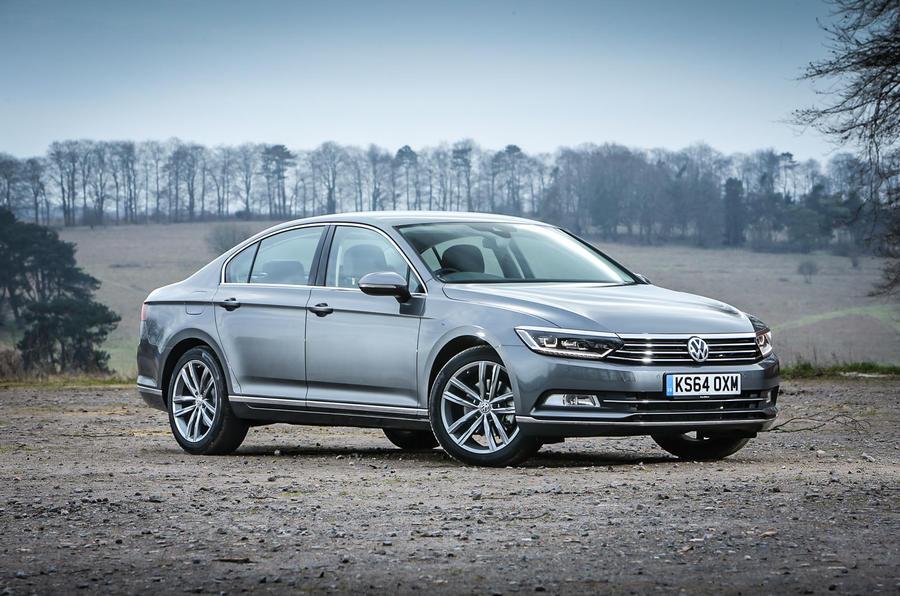 The 4 star eighth generation Volkswagen Passat