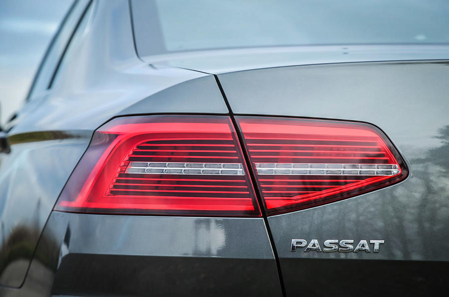 The Volkswagen Passat GT is also fitted with LED lights on the rear and inside too