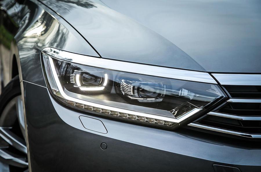 Top-spec Volkswagen Passats get all-LED premium lights