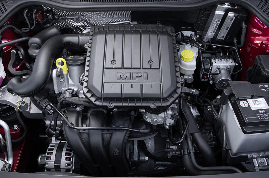 1.0-litre Volkswagen Polo petrol engine