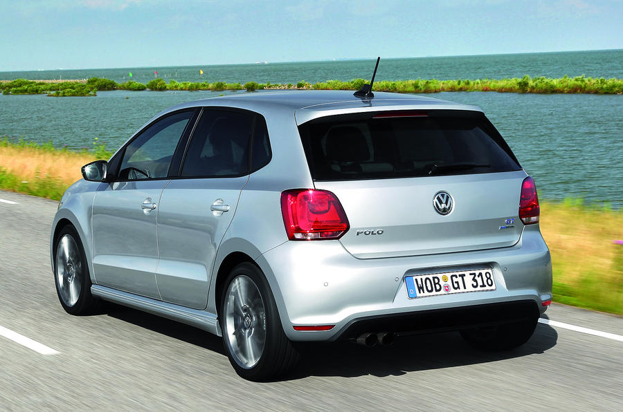 Volkswagen Polo BlueGT rear