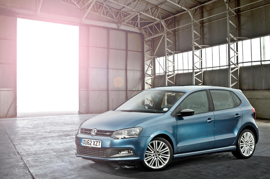 4 star Volkswagen Polo BlueGT