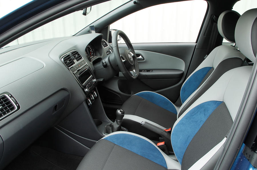Volkswagen Polo BlueGT interior