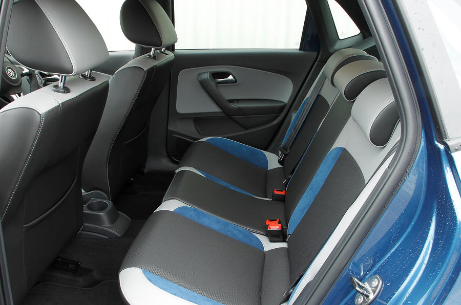 Volkswagen Polo BlueGT rear seats