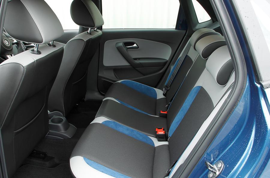 Volkswagen Polo BlueGT rear seats