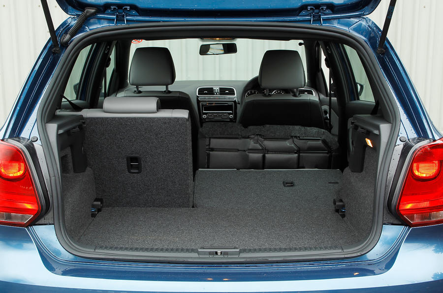 Volkswagen Polo BlueGT boot space
