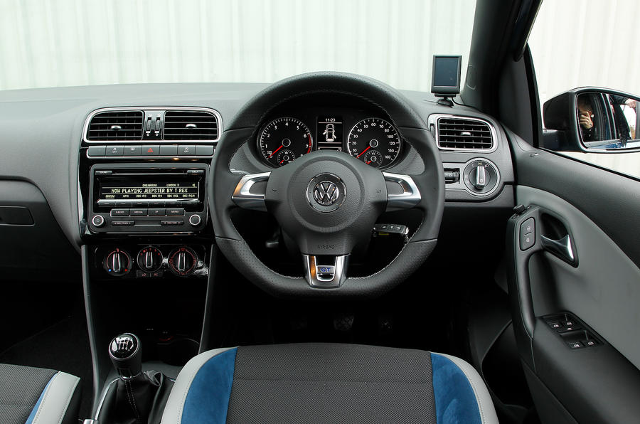 Volkswagen Polo BlueGT dashboard