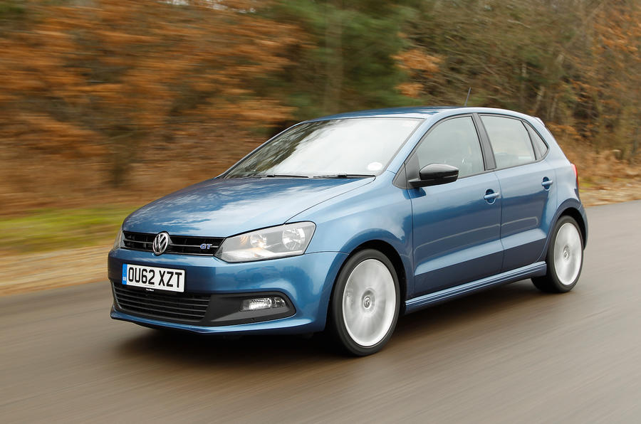 Volkswagen Polo BlueGT front quarter