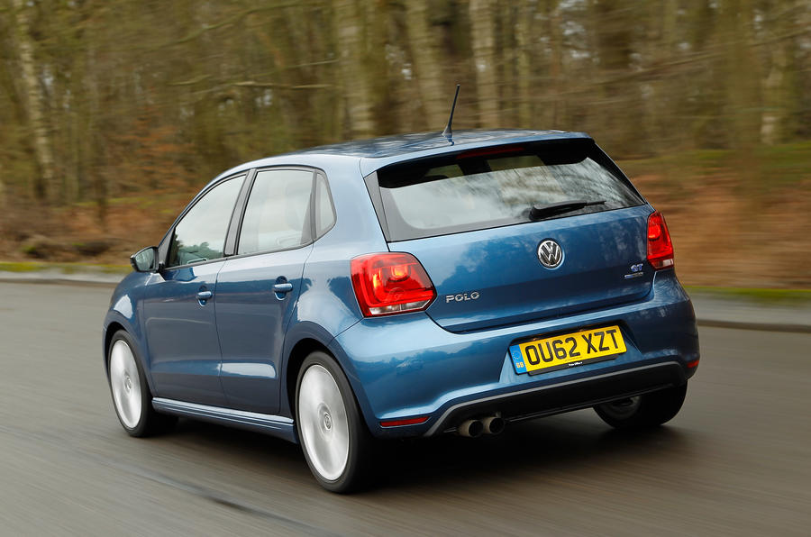 Volkswagen Polo BlueGT rear quarter