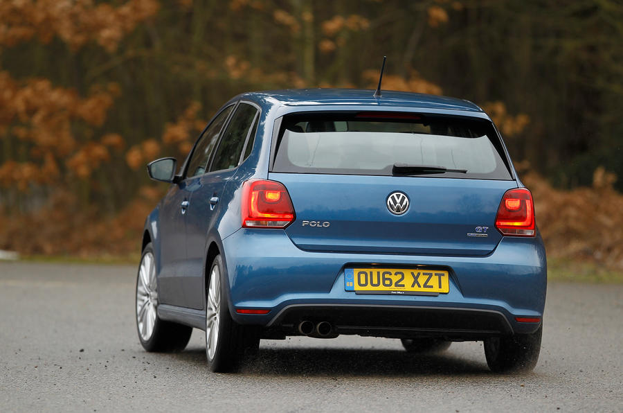 Volkswagen Polo BlueGT rear cornering