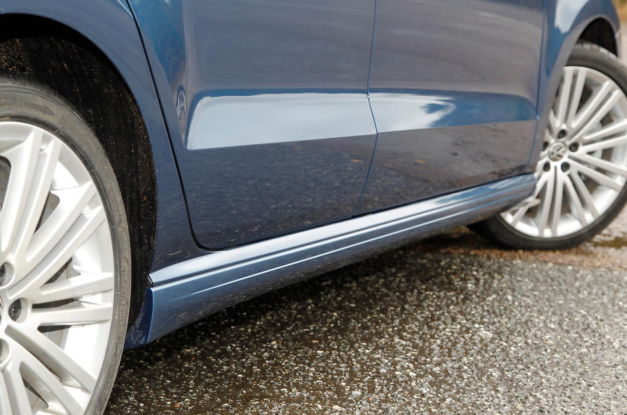 Volkswagen Polo BlueGT side sills
