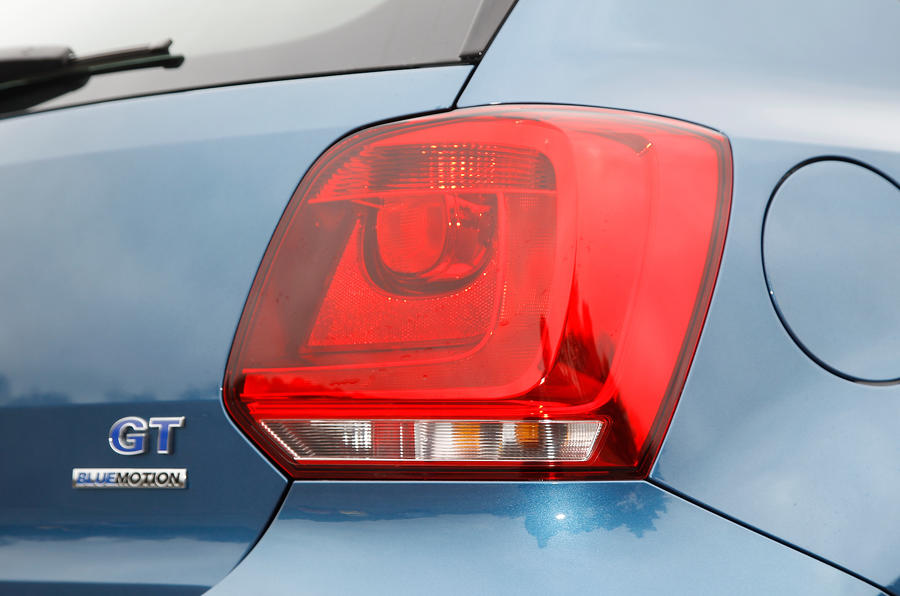Volkswagen Polo BlueGT rear lights