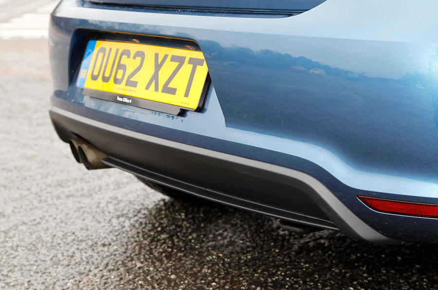 Volkswagen Polo BlueGT rear diffuser