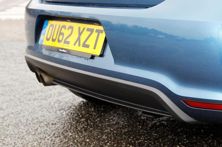 Volkswagen Polo BlueGT rear diffuser