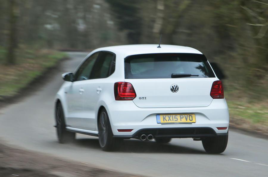 Volkswagen Polo GTI rear