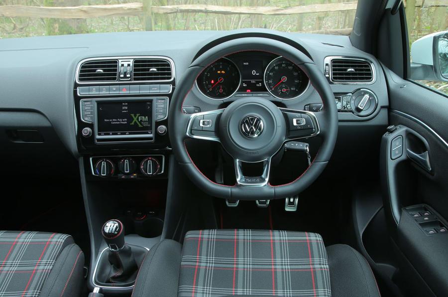 Volkswagen Polo GTI dashboard