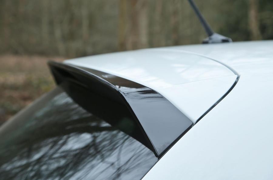 Volkswagen Polo GTI roof spoiler