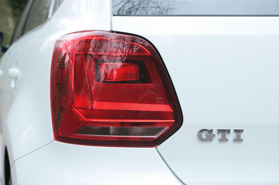 Volkswagen Polo GTI rear light