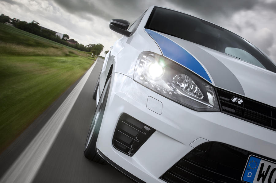 Volkswagen Polo R WRC xenon headlights