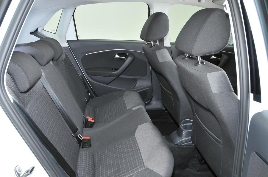 Volkswagen Polo rear seats