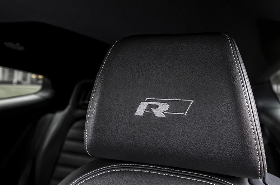 Volkswagen Scirocco R-Line seat trim