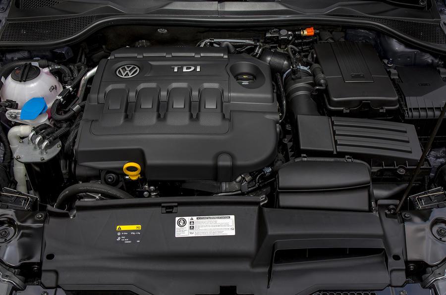 2.0-litre Volkswagen Scirocco diesel engine
