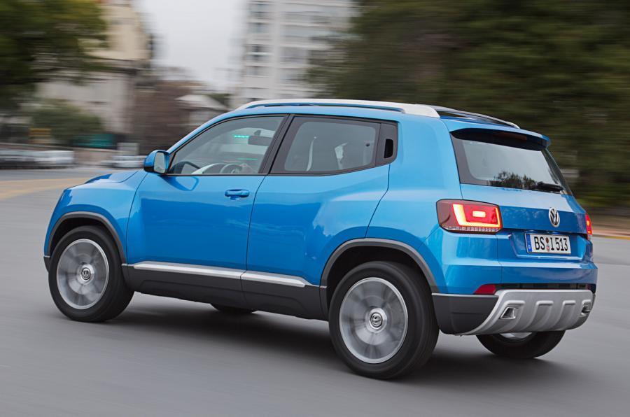 Volkswagen Taigun rear