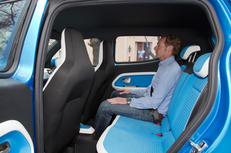 Volkswagen Taigun rear seats