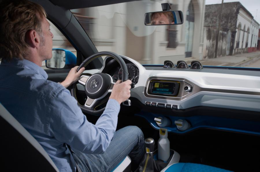 Driving the Volkswagen Taigun