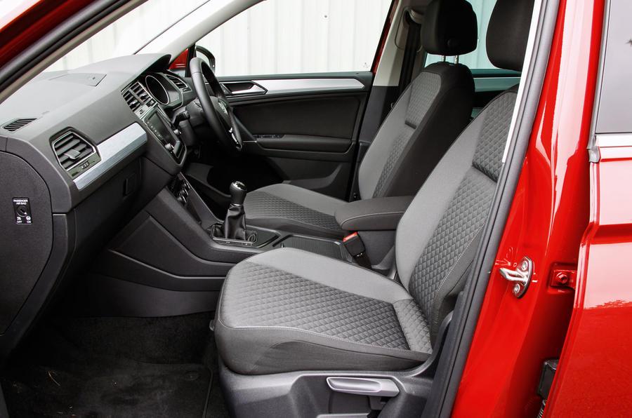 ... Volkswagen Tiguan Interior ...