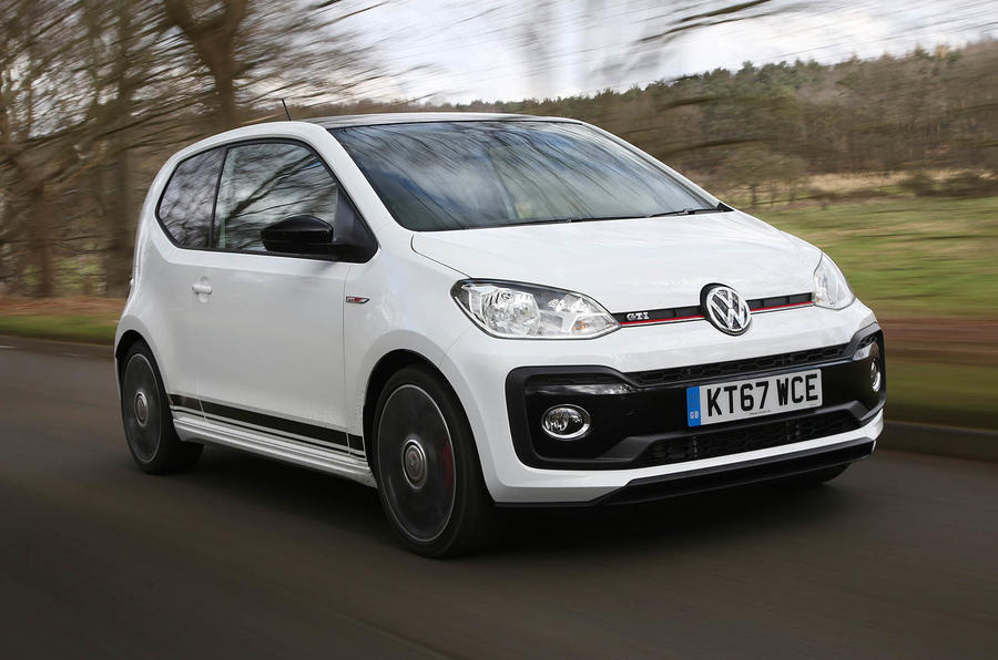 volkswagen up gti review 2019 autocar. Black Bedroom Furniture Sets. Home Design Ideas