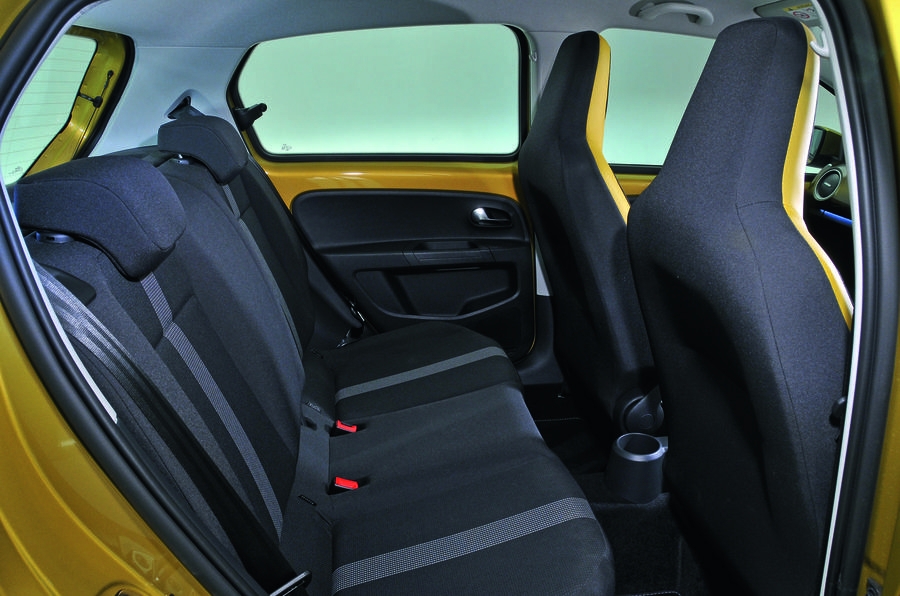 Volkswagen Up rear seats