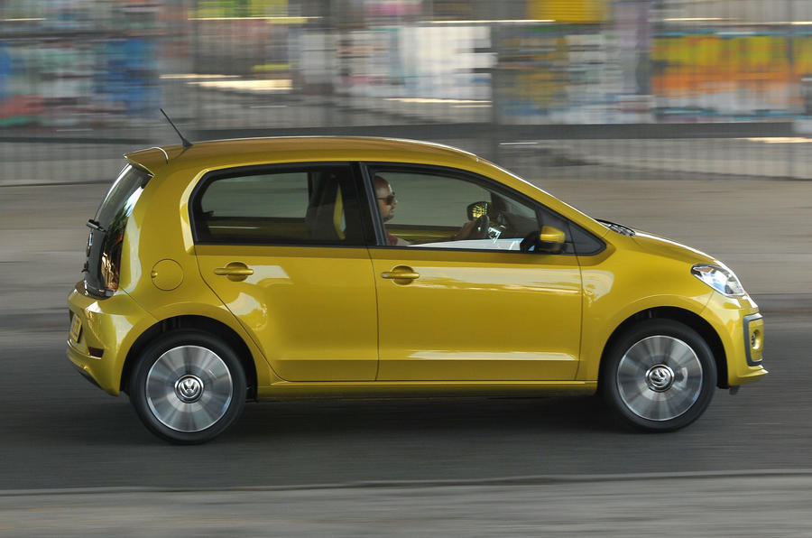 Volkswagen Up side profile