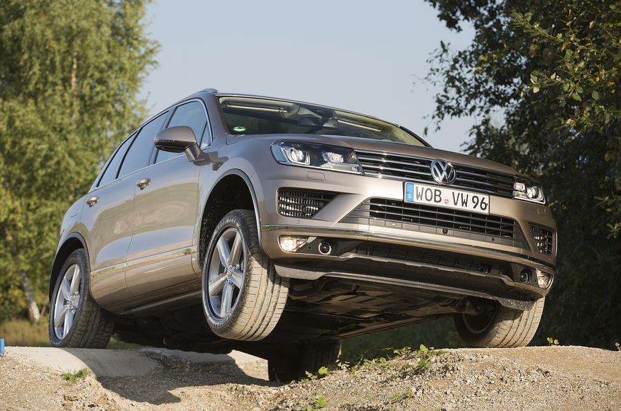 Volkswagen Touareg serious off-roading