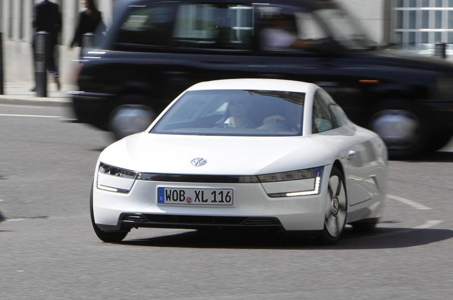 Volkswagen reveals XL1 Sport