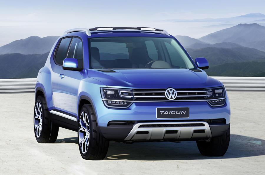 Volkswagen UP spawns mini-SUV