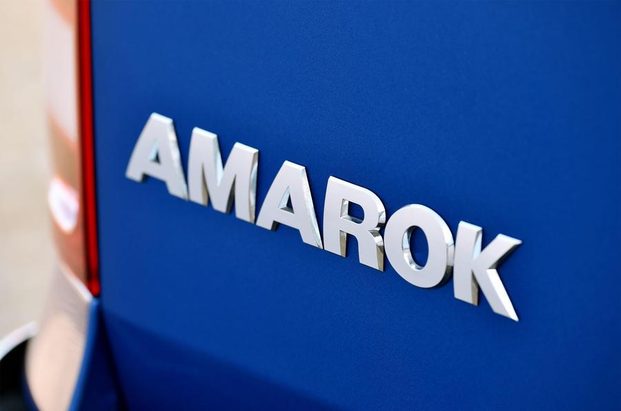 Volkswagen Amarok badging