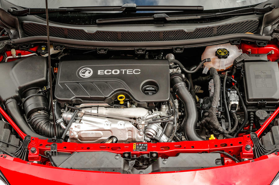 1.6-litre bi-turbo Vauxhall Astra diesel engine