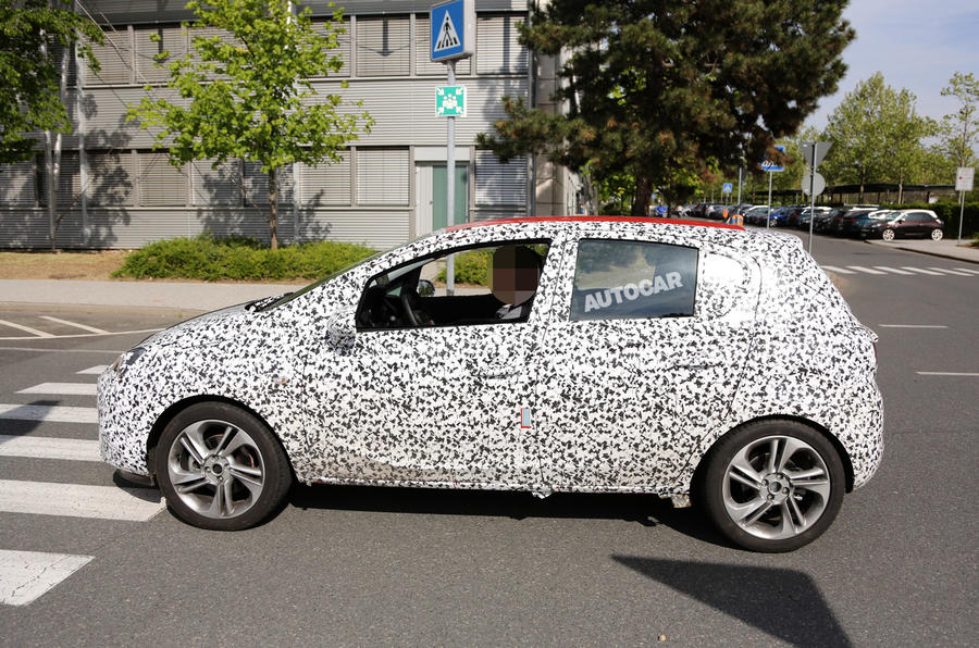 Next Vauxhall Corsa prepares for year-end launch