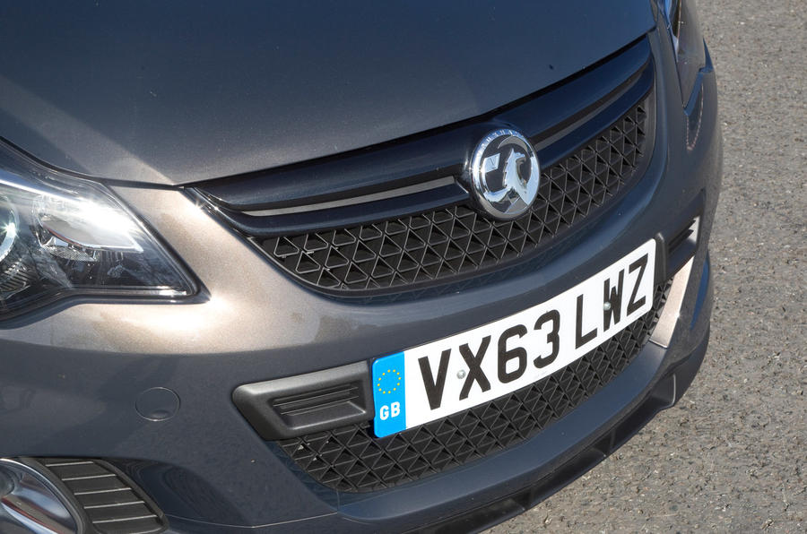 Vauxhall Corsa VXR Clubsport front grille