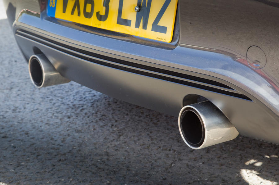 Vauxhall Corsa VXR Clubsport twin exhaust
