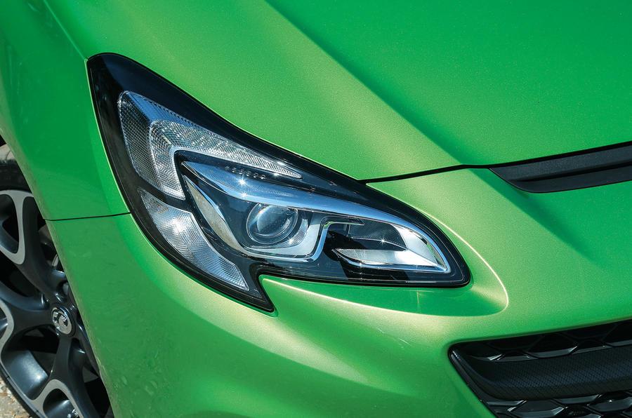 Vauxhall Corsa VXR bi-xenon headlight