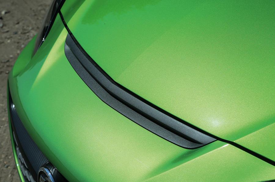 Vauxhall Corsa VXR fake air intake