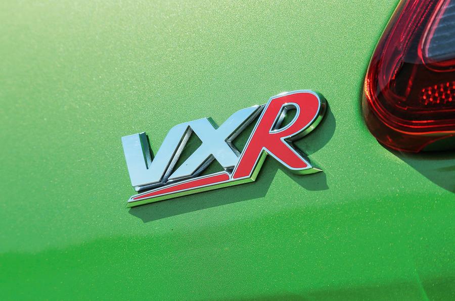 Vauxhall VXR badging
