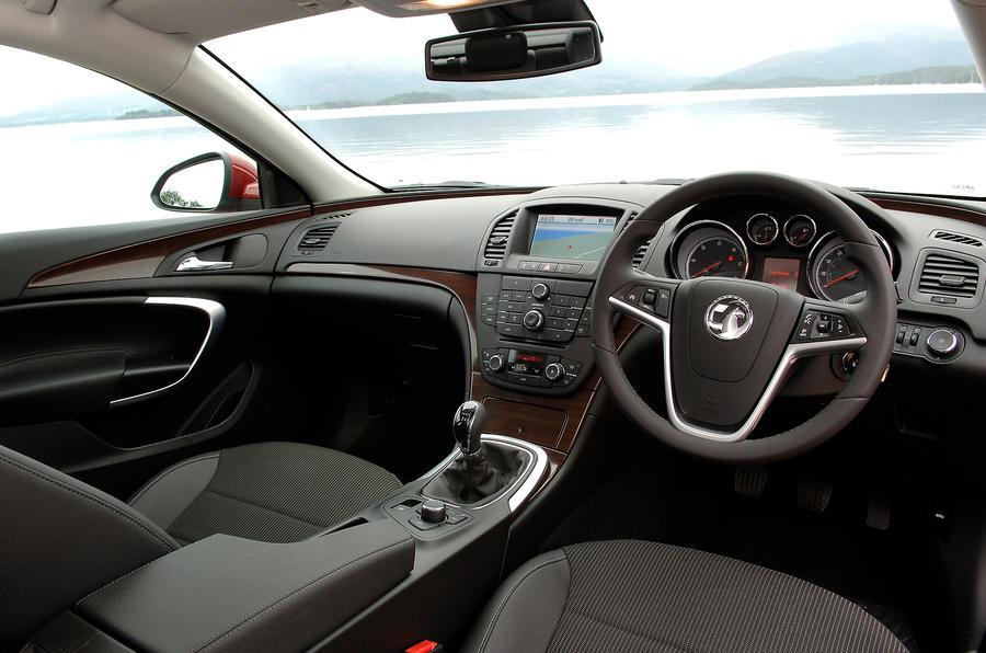 Vauxhall Insignia dashboard
