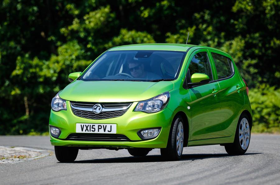 Vauxhall Viva cornering