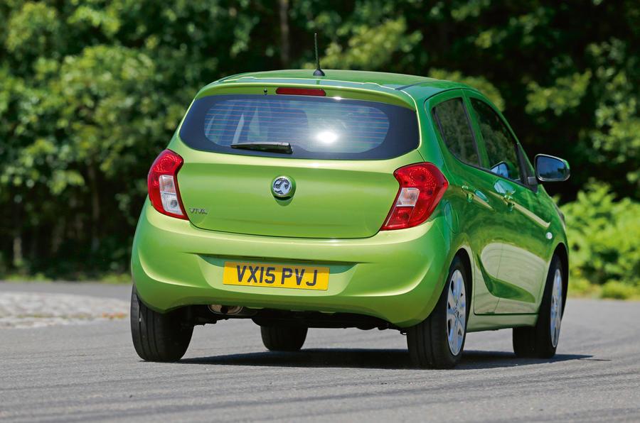 Vauxhall Viva rear cornering
